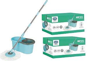 Kit 2 Baldes Mop Limpeza Prática Mor