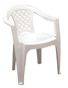 Cadeira Iguape com Braços Branca 92221/010 - Tramontina