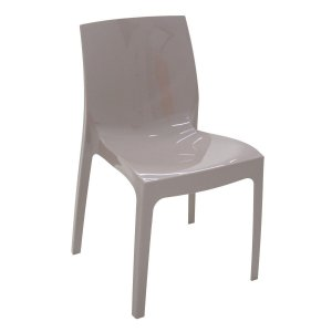 Cadeira Alice camurça brilhosa 92037/210