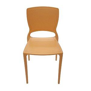 Cadeira Sofia sem braços laranja 92236/090