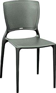 Cadeira Sofia sem braços grafite 92236/007 Tramontina