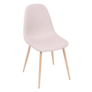 Cadeira Tânia Bege com Base Clara - Or 1112