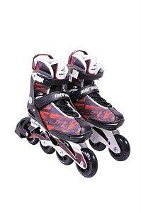 Inline Rollers Mormaii Vermelho Nº 37 374700 Bel Fix