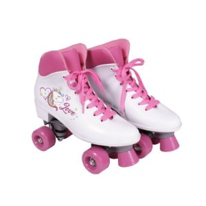 Patins Quad Love Unicornio Branco - Tam. 35 373500