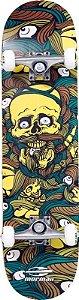 Skateboard Mormaii Chill - Caveira Amarela 498400