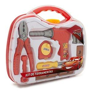 Brinquedo Maleta de Ferramenta Plástica Carros 3 - Toyng  6PC 30744
