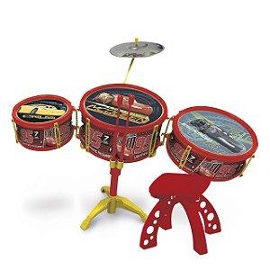 Bateria Musical Infantil Carros 3 Disney - Toyng - 30832