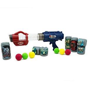 Lançador De Bolas Com Latinhas Vingadores 031316 Toyng