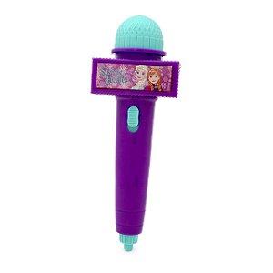 Microfone Infantil com Eco e Luz Frozen - Disney  Toyng 33373