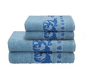 Toalha Gala de Banho 70X140 Azul R7641