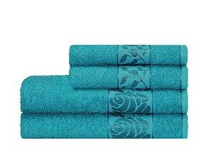 Toalha Donna de  Banho 70X130 Azul Escuro - Camesa