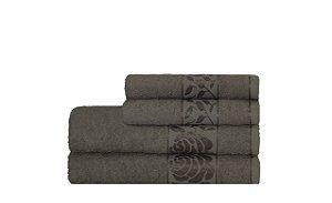 Toalha Donna de  Rosto 45X70 Bege Escuro - Camesa