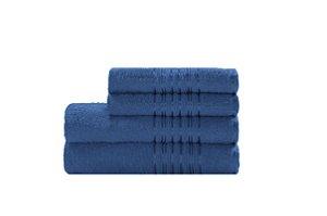 Toalha Lyra de Rosto 45X70 Azul R7022
