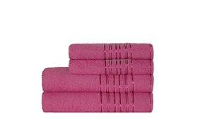 Toalha Lyra de Rosto 45X70 Pink R4003