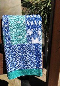 Toalha Paraty Adulto Banho 65Cmx120Cm - Portuguesa Azul