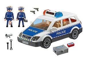 Playmobil - Viatura Policial Com Guardas - 1678