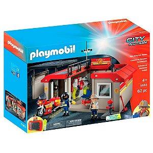 Estação de Bombeiro portátil 1178 Playmobil