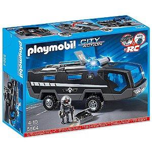 Comando De Unidade Tatica Da Policia 1045 Playmobil