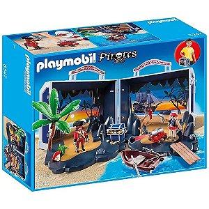 Bau Do Tesouro Dos Piratas 1041 Playmobil