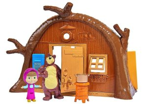 Masha e o Urso - Playset Da Casa Do Urso 1480