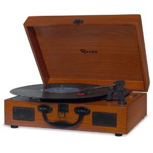 Vitrola Raveo Sonetto Toca-discos Bluetooth Usb Versão Wood 90-08226