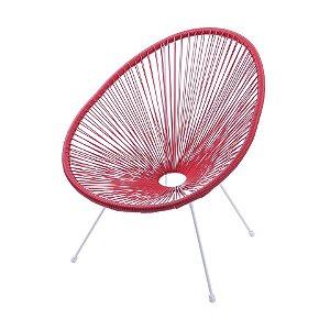 Cadeira Or Design Acapulco Vermelha OR1160