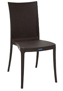 Cadeira Laura Ratan Marrom Tramontina 92032/109