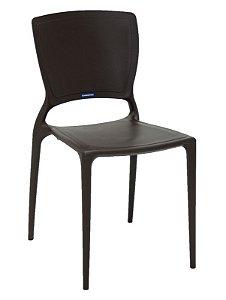 Cadeira Sofia Marrom Fechada Tramontina 92236/109