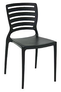 Cadeira Sofia PRETA Horizontal Tramontina 92237/009