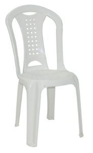 Cadeira de polipropileno branca 92018/010