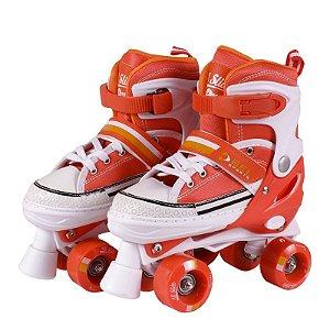 Patins Roller All Slide Classic Laranja P (29-32) 378400