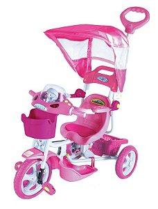 Triciclo com Capota E.T - Rosa 901000