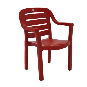 Cadeira Plástica Poltrona Tramontina Miami 92238/040 Vermelho