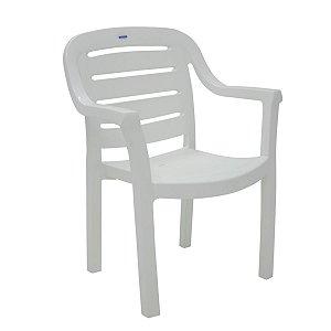 Cadeira Plástica Poltrona Tramontina Miami 92238/010 Branca