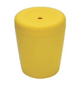 Puff Multiuso c/ Tampa - Amarelo - Tramontina 92426/000