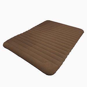 Colchão Inflável Soft Sleep Marrom NTK- 49035-MR