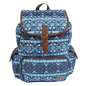 Mochila G Capricho Etnic Blue Dermiwil 10992