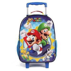 Mochila de Rodinhas G Super Mario - DMW 11518