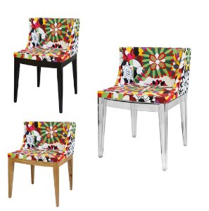 Cadeira Cristie Floral Margarida