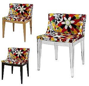 Cadeira Cristie Floral Camélia
