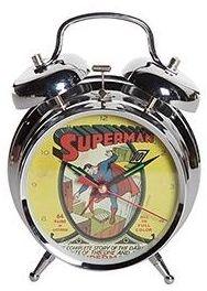 Relógio de Mesa DC Comics Superman Cover (23917)