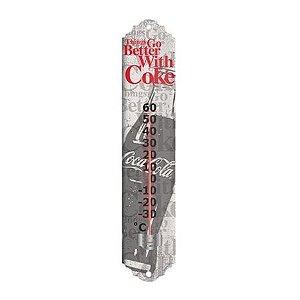 Termômetro de Metal Coca-Cola Contour Bottle Better (26646)