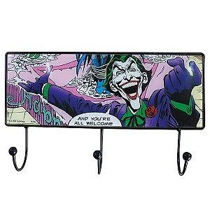 Cabideiro Vidro DC Comics 3 Ganchos Joker Fireworks (27433)