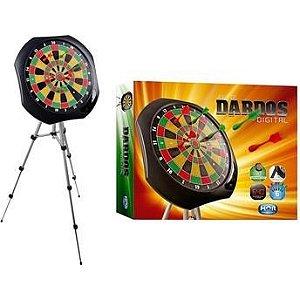 Jogo de Dardos com Alvo Magnético e Display Digital - MOR