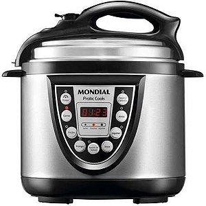 Panela de Pressão Elétrica Pratic Cook PE-09 4 Litros 220V - Mondial