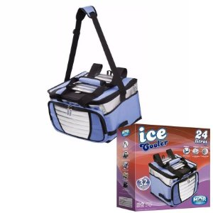 Bolsa Cooler Térmica com Divisória Ice Cooler 24L