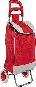 Carrinho de Compras Bag To Go Vermelho