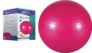 Bola para Pilates 65cm Rosa