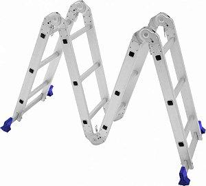 Escada Multifuncional 4x3 com 12 Degraus - MOR