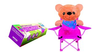 Cadeira Dobrável Infantil Ursinhos - MOR